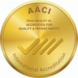 AACI Gold Accreditation medal XL