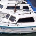 Barka s kabino, 4,99m, poliester Kvarnerplastika 1985, prodam